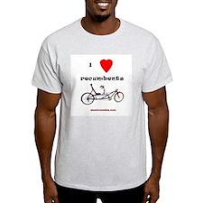 T-Shirt - I Love Recumbents