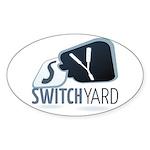 SwitchYard Sticker (Oval 10 pk)
