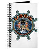 USCG Coast Guard Skull Journal