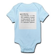 Specificity Infant Bodysuit