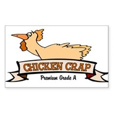 Chicken Crap Decal