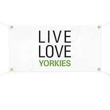 Live Love Yorkies Banner