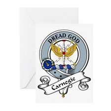 Carnegie Clan Badge Greeting Cards (Pk of 10)