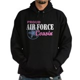 Proud Air Force Cousin Hoody