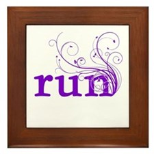 run Framed Tile