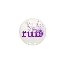 run Mini Button (10 pack)