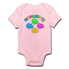 Cute Hippos Infant Bodysuit
