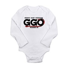 Grizzly Gary Outdoors Hook Long Sleeve Infant Body