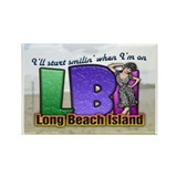 Smilin' on the Island... Rectangle Magnet (10 pack