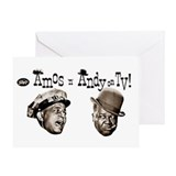 Amos 'n' Andy Greeting Card
