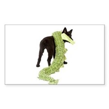 Green Dragon Puppy Decal