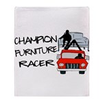 Champion Furniture Racer Throw Blanket