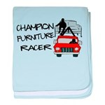 Champion Furniture Racer baby blanket