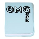 Oh My Geek baby blanket