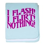 Flirty Flasher baby blanket