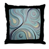 Night SwimThrow Pillow