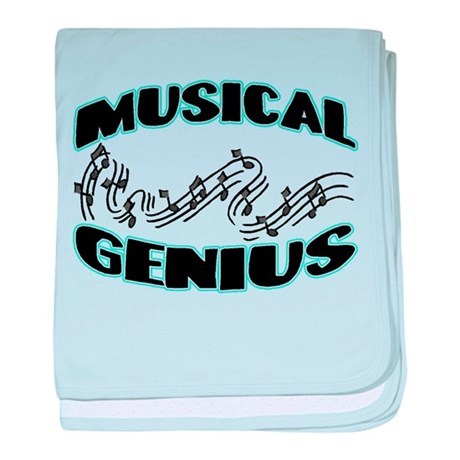 Musical Genius baby blanket
