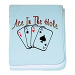 Ace Hole baby blanket