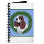 Christmas Cocker Spaniel Journal