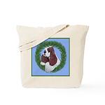 Christmas Cocker Spaniel Tote Bag