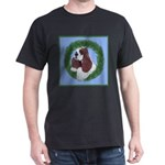 Christmas Cocker Spaniel Dark T-Shirt
