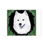 Christmas Samoyed Postcards (Package of 8)