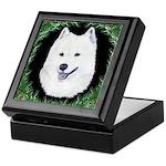 Christmas Samoyed Keepsake Box