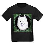 Christmas Samoyed Kids Dark T-Shirt