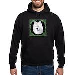 Christmas Samoyed Hoodie (dark)