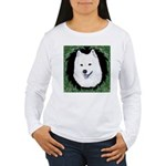 Christmas Samoyed Women's Long Sleeve T-Shirt