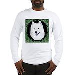 Christmas Samoyed Long Sleeve T-Shirt
