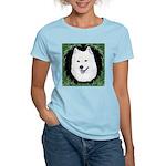 Christmas Samoyed Women's Light T-Shirt