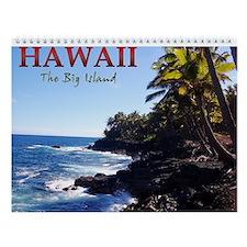 Big Island of Hawaii Wall Calendar