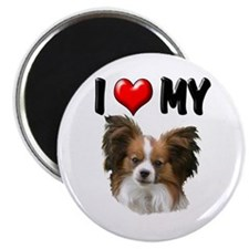 "I Love My Papillon 2.25"" Magnet (10 pack)"