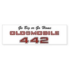 4-4-2 Vintage Bumper Sticker