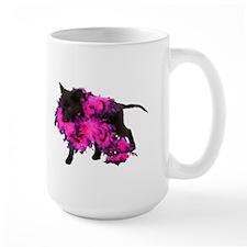Pink Boa Puppy Mug