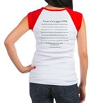 Prayer Logger's Girlfriend Women's Cap Sleeve T-Sh