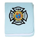 Firefighter Energy Planet baby blanket