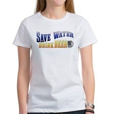 Save Water, Drink Beer Tee