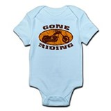 Gone Riding - Orange2 Onesie
