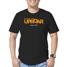 Cause an Uproar Men's Fitted T-Shirt (dark)