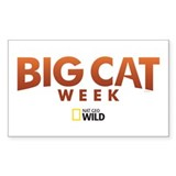 Big Cat Week Decal