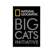Big Cats Initiative Rectangle Magnet