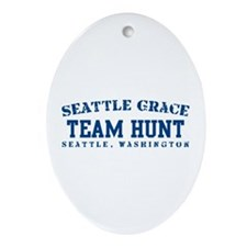Team Hunt - Seattle Grace Ornament (Oval)