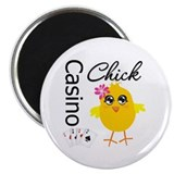Casino Chick 2.25&quot; Magnet (100 pack)