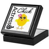 Actress Chick Keepsake Box