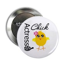 "Actress Chick 2.25"" Button"