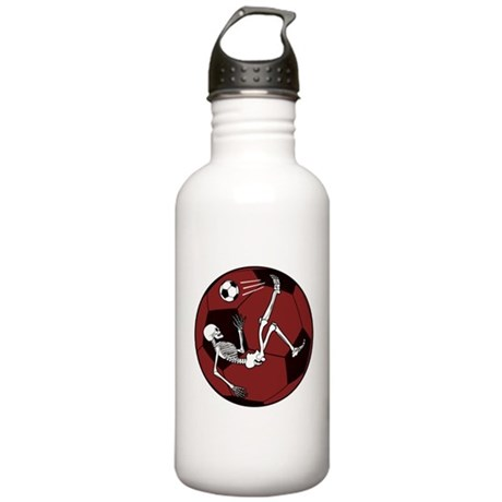 Soccer Skeleton Stainless Water Bottle 1.0L
