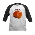 The Big Bun in the Oven Kids Baseball Jersey