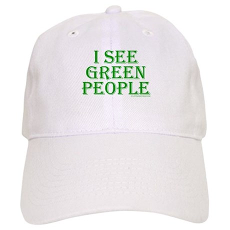 I see green people Cap